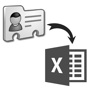 Online VCF/vCard to Excel/CSV Converter free